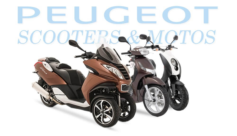 Gamme Peugeot Scooter